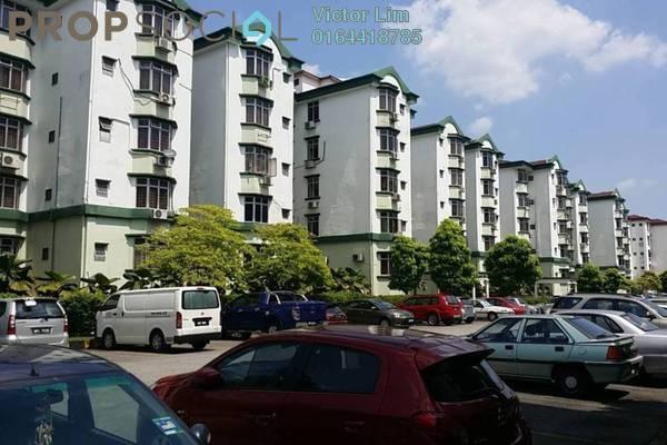 For Rent Condominium at Goodyear Court 10, UEP Subang Jaya Freehold Semi Furnished 3R/2B 1.2k