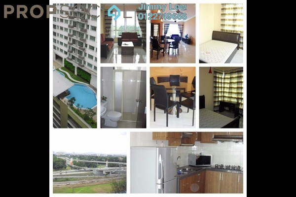 For Rent Condominium at Casa Tiara, Subang Jaya Freehold Fully Furnished 2R/2B 2.4k