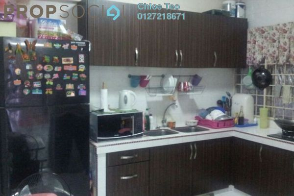 For Sale Apartment at Sri Meranti, Bandar Sri Damansara Freehold Semi Furnished 3R/2B 160k