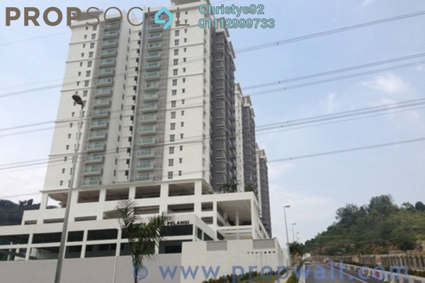 For Sale Condominium at Villa Orkid, Segambut Freehold Semi Furnished 4R/3B 740k