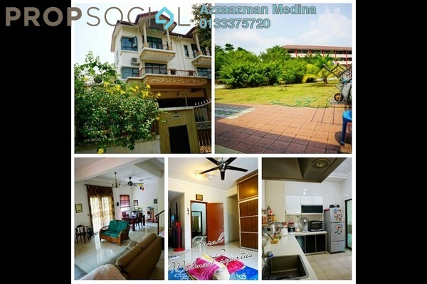 For Sale Terrace at Taman Sentosa, Kajang Freehold Semi Furnished 4R/4B 1.2m
