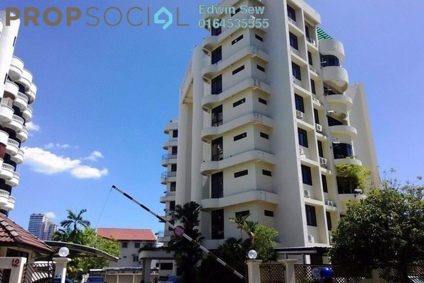 For Sale Condominium at Tanjung Pura, Georgetown Freehold Semi Furnished 3R/2B 820k