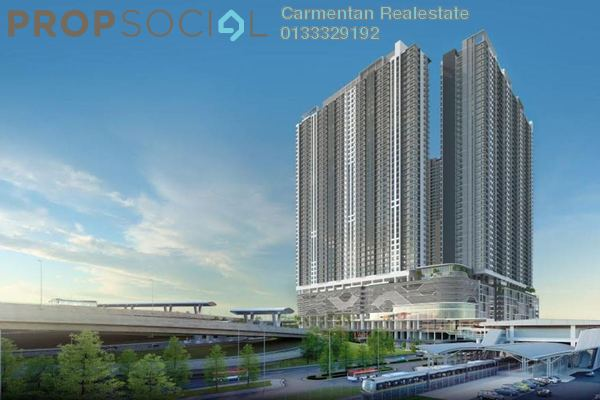 For Sale Condominium at United Point Residence, Segambut Freehold Unfurnished 4R/3B 630k