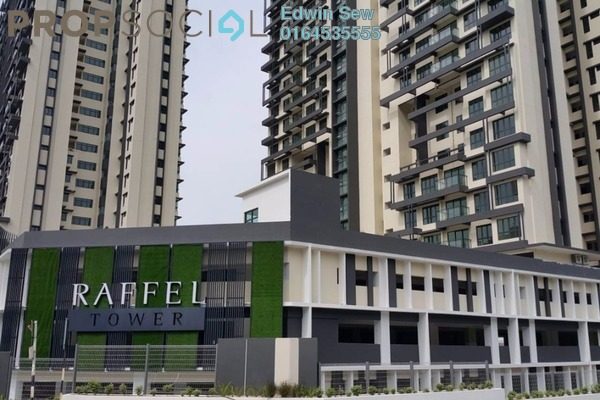 For Sale Condominium at Raffel Tower, Bukit Gambier Freehold Unfurnished 4R/3B 980k