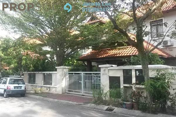 For Sale Semi-Detached at Damai Kasih, Alam Damai Leasehold Semi Furnished 5R/5B 1.17m