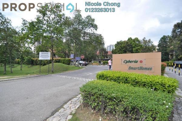 For Rent Condominium at Cyberia SmartHomes, Cyberjaya Freehold Semi Furnished 3R/2B 1.3k