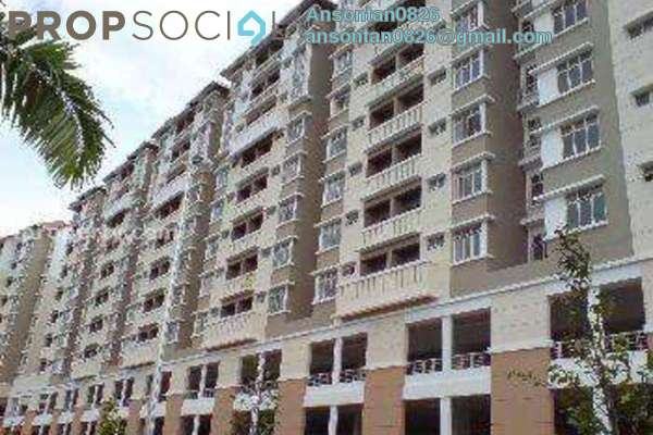 For Sale Condominium at Fortune Avenue, Kepong Leasehold Unfurnished 3R/2B 500k