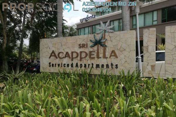 For Rent Apartment at Sri Acappella, Shah Alam Leasehold Fully Furnished 2R/2B 2k