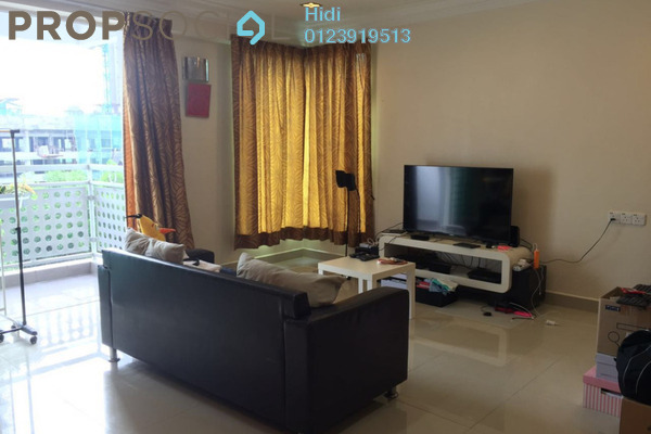 For Rent Condominium at Bukit Segambut, Segambut Freehold Semi Furnished 3R/2B 1.6k
