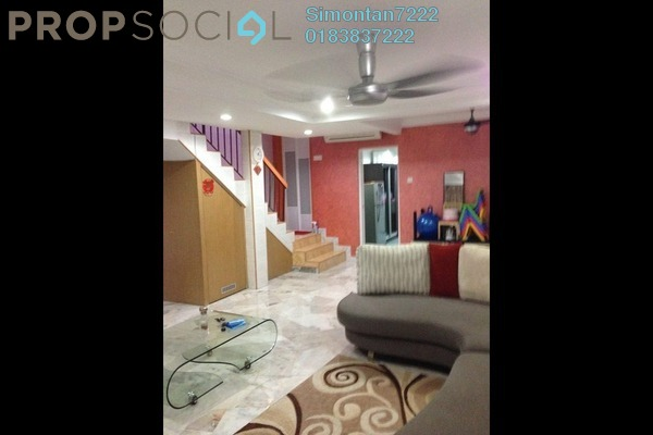For Sale Terrace at PJS 10, Bandar Sunway Leasehold Semi Furnished 3R/3B 680k