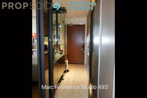 For Sale Condominium at Marc Service Residence, KLCC Freehold Fully Furnished 1R/1B 950k
