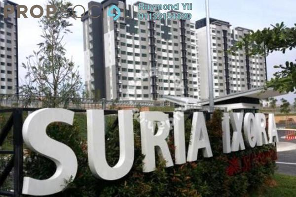 For Rent Apartment at Suria Ixora, Setia Alam Freehold Unfurnished 3R/2B 750translationmissing:en.pricing.unit