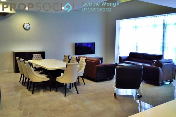 For Rent Duplex at Idaman Residence, KLCC Freehold Fully Furnished 4R/6B 18k