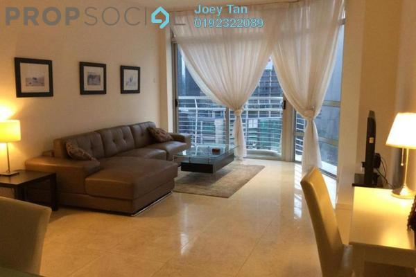 For Rent Condominium at Idaman Residence, KLCC Freehold Fully Furnished 2R/2B 4k