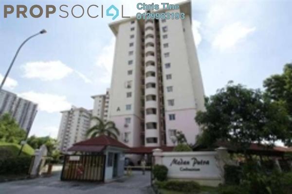 For Sale Condominium at Medan Putra Condominium, Bandar Menjalara Freehold Semi Furnished 3R/2B 380k