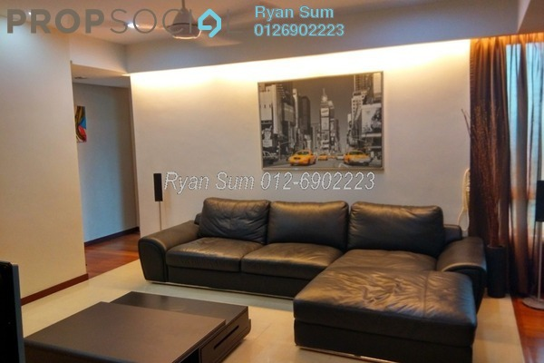 For Rent Condominium at i-Zen Kiara II, Mont Kiara Freehold Fully Furnished 3R/3B 5k