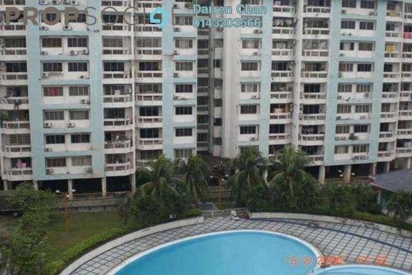 For Rent Condominium at Petaling Indah, Sungai Besi Leasehold Semi Furnished 3R/2B 1.1k