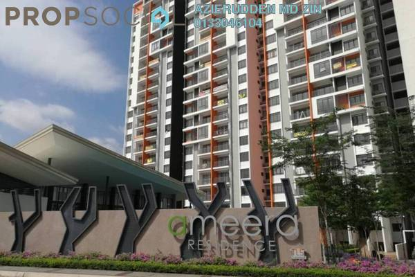 For Sale Condominium at Ameera Residence, Kajang Freehold Semi Furnished 3R/2B 460k