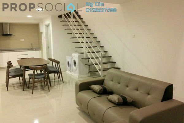 For Rent Condominium at Arte SW, Shah Alam Leasehold Fully Furnished 3R/2B 2.8k