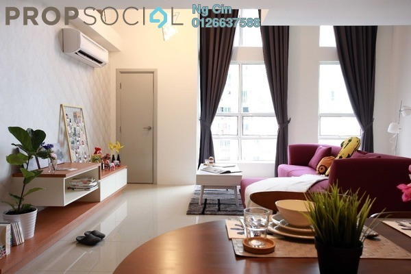 For Rent Condominium at Arte SW, Shah Alam Leasehold Fully Furnished 2R/2B 2.6k