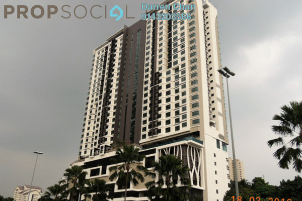 For Rent Condominium at Avantas Residences, Old Klang Road Freehold Semi Furnished 1R/1B 1.9k