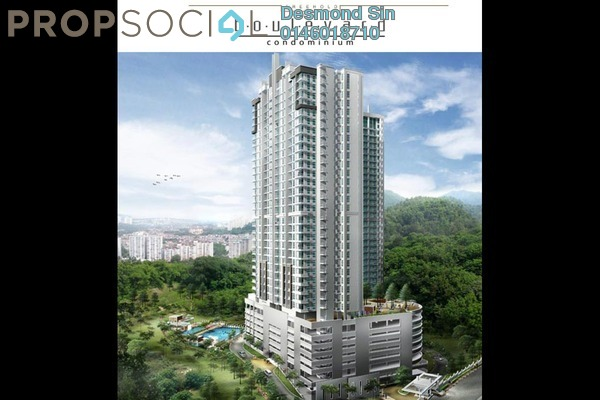 For Sale Condominium at Boulevard Condominium, Air Itam Freehold Unfurnished 3R/2B 485k