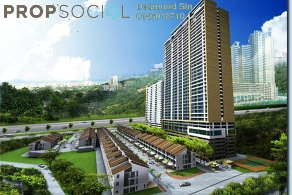 For Sale Condominium at Shineville Park, Farlim Freehold Unfurnished 4R/2B 520k