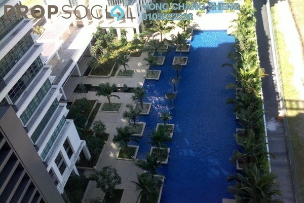 For Sale Condominium at Saujana Residency, Subang Jaya Freehold Fully Furnished 2R/2B 780k