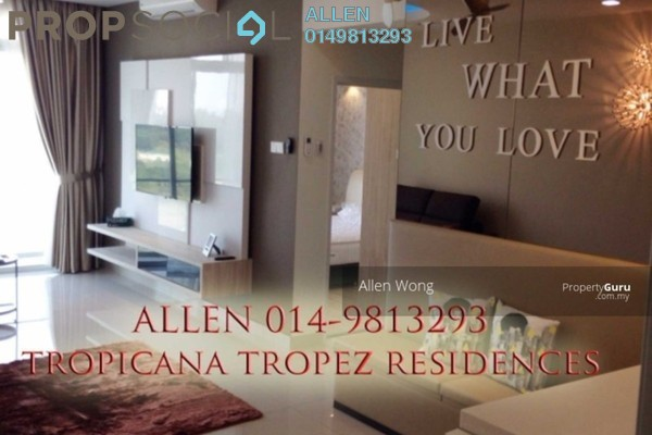 For Rent Serviced Residence at Tropez Residences, Danga Bay Freehold Fully Furnished 2R/2B 2.69k