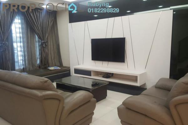 For Sale Terrace at Bandar Puteri Klang, Klang Freehold Fully Furnished 4R/4B 888k