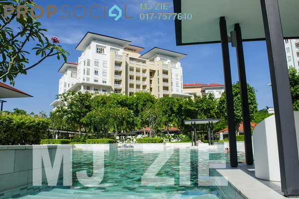 For Rent Condominium at Quayside, Seri Tanjung Pinang Freehold Fully Furnished 3R/3B 5.0千