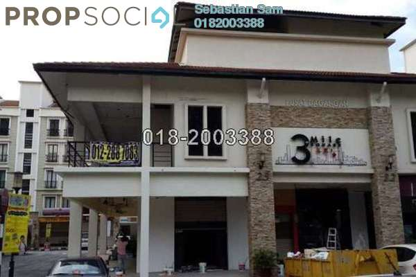 For Sale Shop at 3rd Mile Square, Old Klang Road Leasehold Fully Furnished 0R/0B 4.6m