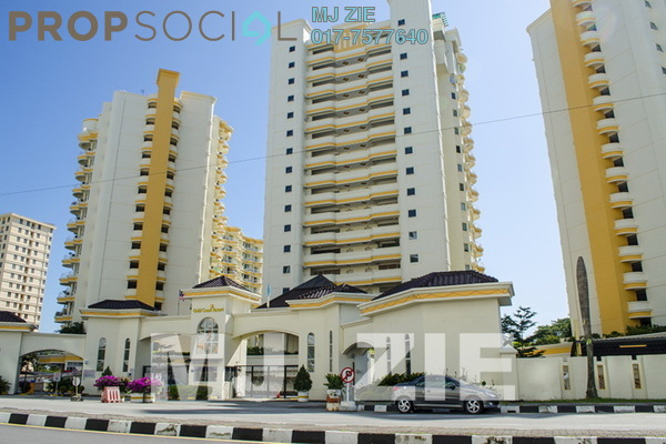 For Sale Condominium at Gold Coast, Bayan Indah Leasehold Fully Furnished 3R/2B 1.2m