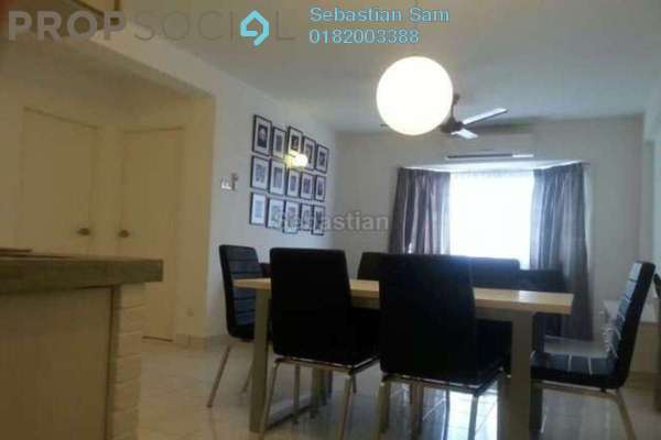For Rent Apartment at Aman Dua, Kepong Freehold Semi Furnished 3R/1B 1.4k