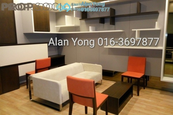 For Rent Condominium at VERVE Suites, Mont Kiara Freehold Fully Furnished 1R/1B 3.6k