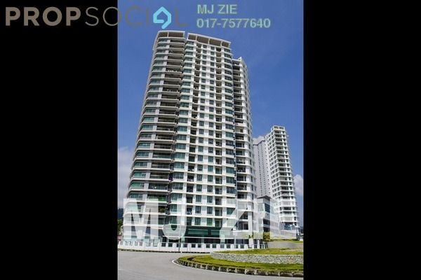 For Rent Condominium at The Brezza, Tanjung Tokong Leasehold Fully Furnished 3R/3B 3.2k