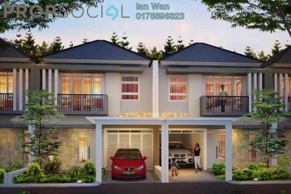 For Sale Terrace at Bukit Sungai Long 2, Bandar Sungai Long Freehold Unfurnished 4R/4B 530k