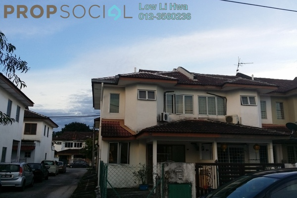 For Sale Terrace at PU6, Bandar Puchong Utama Freehold Semi Furnished 4R/3B 530k