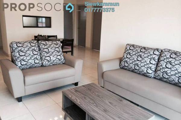 For Rent Apartment at Casa Indah 1, Tropicana Leasehold Semi Furnished 3R/2B 2k