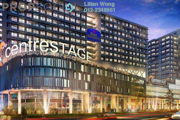 For Rent Condominium at Centrestage, Petaling Jaya Leasehold Semi Furnished 2R/2B 2.3k