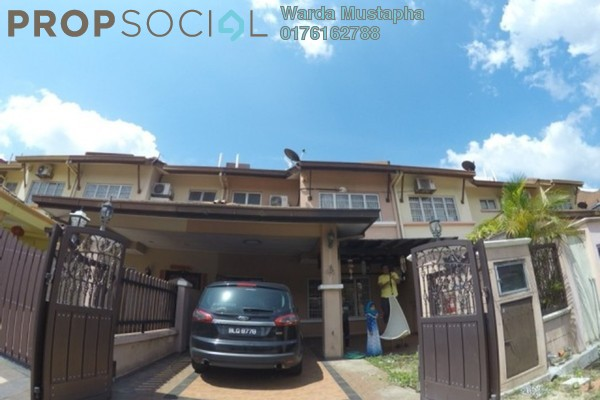 For Sale Terrace at Anggerik Villa 2, Kajang Freehold Semi Furnished 4R/3B 850k
