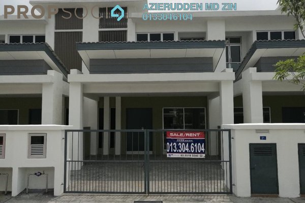 For Sale Terrace at Taman Alam Indah, Shah Alam Freehold Unfurnished 4R/0B 695k