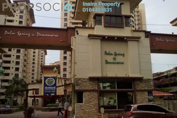 For Sale Condominium at Palm Spring, Kota Damansara Leasehold Unfurnished 3R/2B 500k