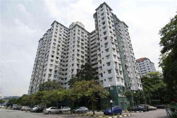For Rent Condominium at Seri Mas, Bandar Sri Permaisuri Leasehold Fully Furnished 3R/2B 1.9k