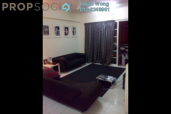 For Rent Condominium at Sterling, Kelana Jaya Leasehold Fully Furnished 4R/2B 3.5千