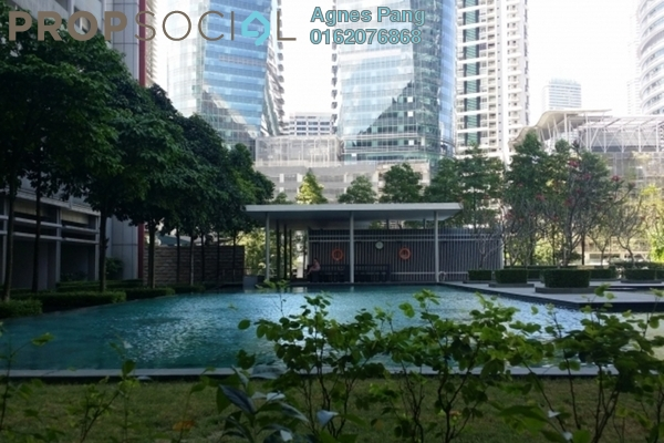 For Sale Condominium at Dua Residency, KLCC Freehold Fully Furnished 3R/4B 1.95m