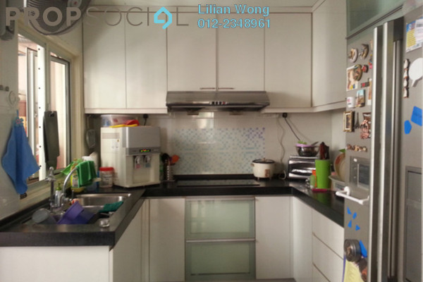 For Sale Apartment at Jalil Damai, Bukit Jalil Freehold Semi Furnished 3R/2B 550k