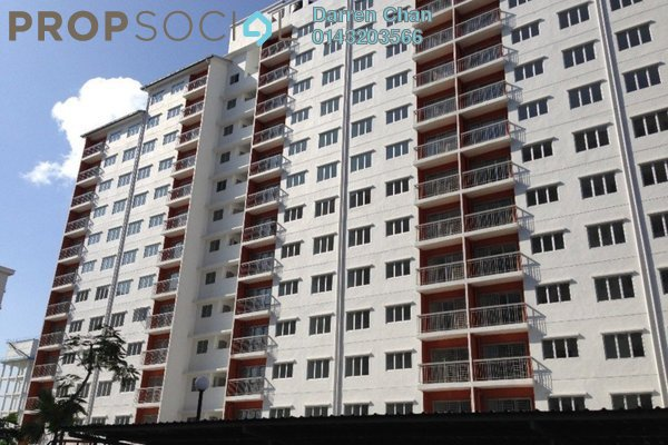 For Rent Condominium at Suria Permai, Bandar Putra Permai Leasehold Semi Furnished 3R/2B 1k