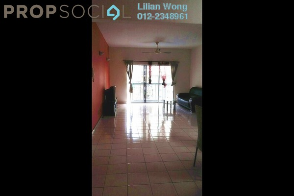For Sale Condominium at Tiara Kelana, Kelana Jaya Leasehold Semi Furnished 3R/2B 630k