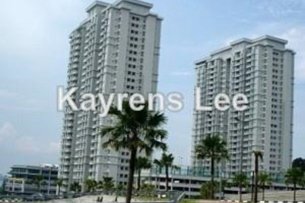 For Rent Condominium at BaysWater, Gelugor Leasehold Unfurnished 3R/2B 2.3千